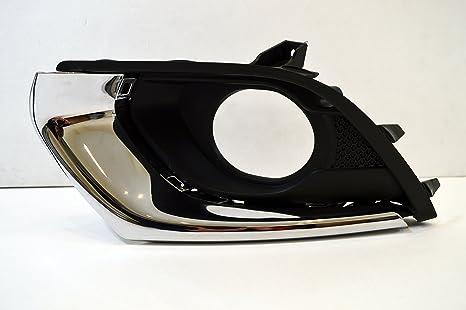 Genuine Vauxhall Corsa E – parachoques delantero niebla Surround rejilla de parrilla/LH – 13419801