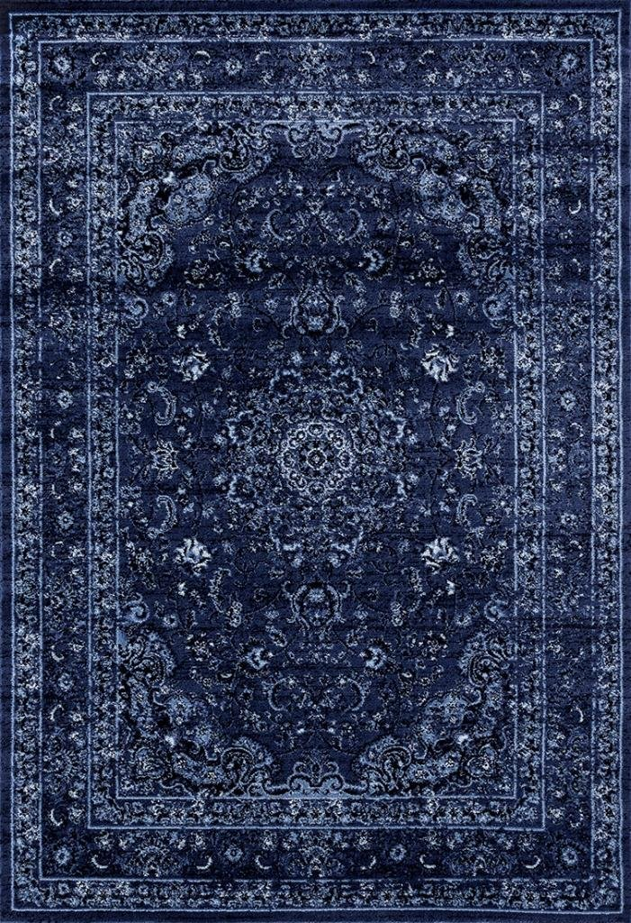 3212 Distressed Blue 5'2x7'2 Area Rug Carpet Large New Persian Area Rugs 3212 Blue 5x7