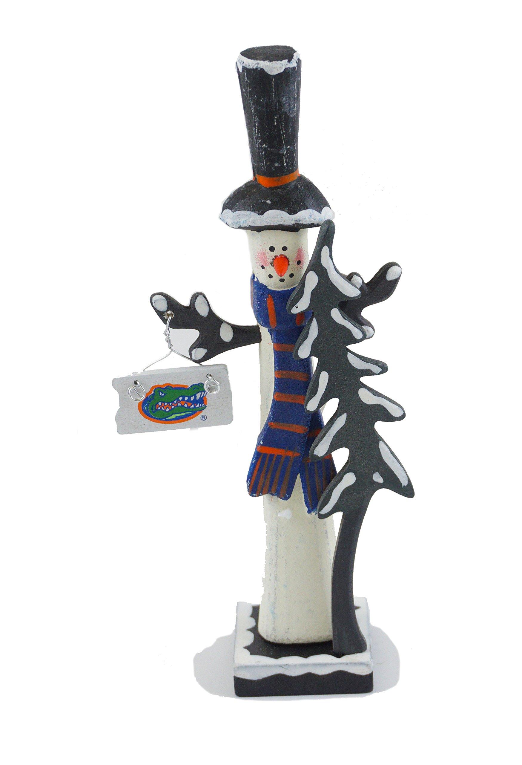 Hanna's Handiworks University of Florida Snowman Figurine (Top Hat)