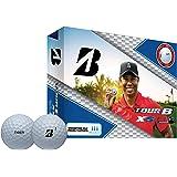 Bridgestone Tour B Xs Tiger Woods Edition Golf Balls Tour B Xs 12-Ball Pack, 01