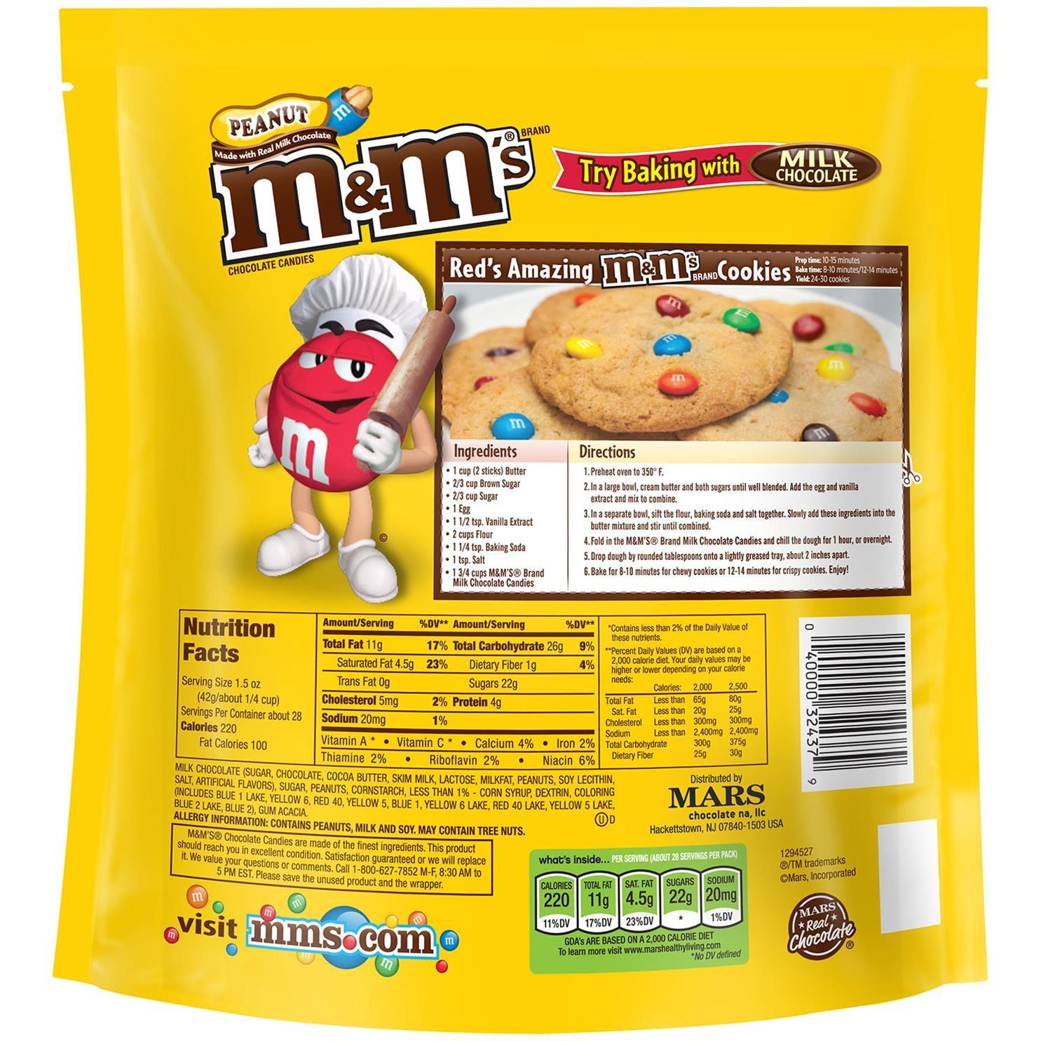 Chocolate Peanut M S