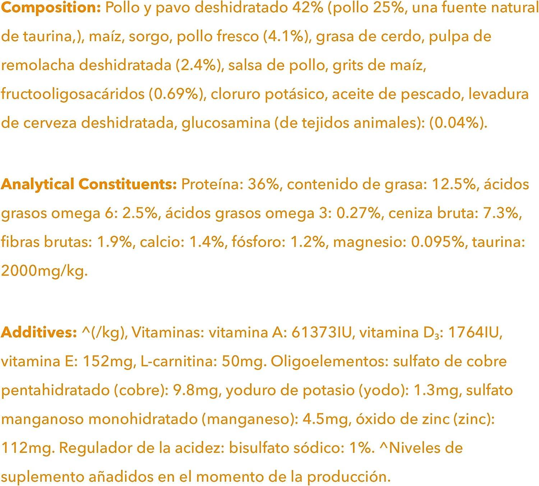 IAMS for Vitality Alimento para Gatos de Edad Avanzada con pollo fresco, 3 kg