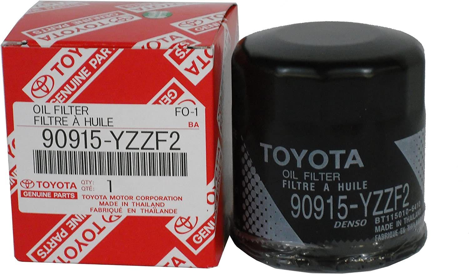the best Toyota Genuine Parts 90915-YZZF2 Oil Filter