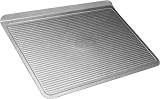 product image for USA Pan Warp Resistant Non-Stick Aluminized Steel Bakeware Cookie Sheet, Small (13-Inch-8 1/4-Inch)