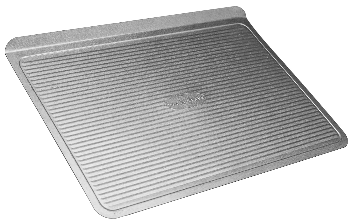 USA Pan Warp Resistant Non-Stick Aluminized Steel Bakeware Cookie Sheet, Small (13-Inch-8 1/4-Inch)