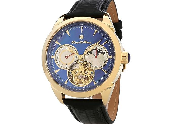 Exclusive Raoul U marrón rub05 – 0288 GL de BL de Go Reloj Automático Reloj de