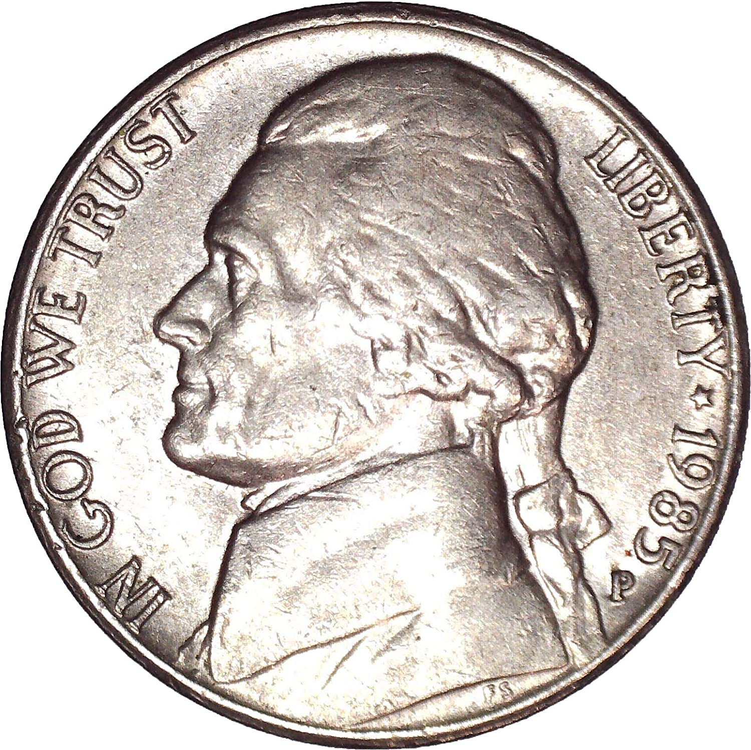 2017-P 5C Jefferson Nickel BU