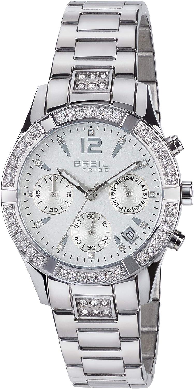 Reloj BREIL para Mujer Modelo C'EST Chic con Pulsera Acero, Movimiento CRONO Cuarzo