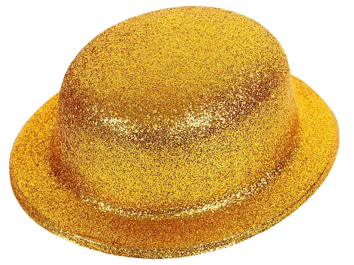 Alsino Cappello Bombetta Scintillante per Travestimento Costume ... cff4926bdc08