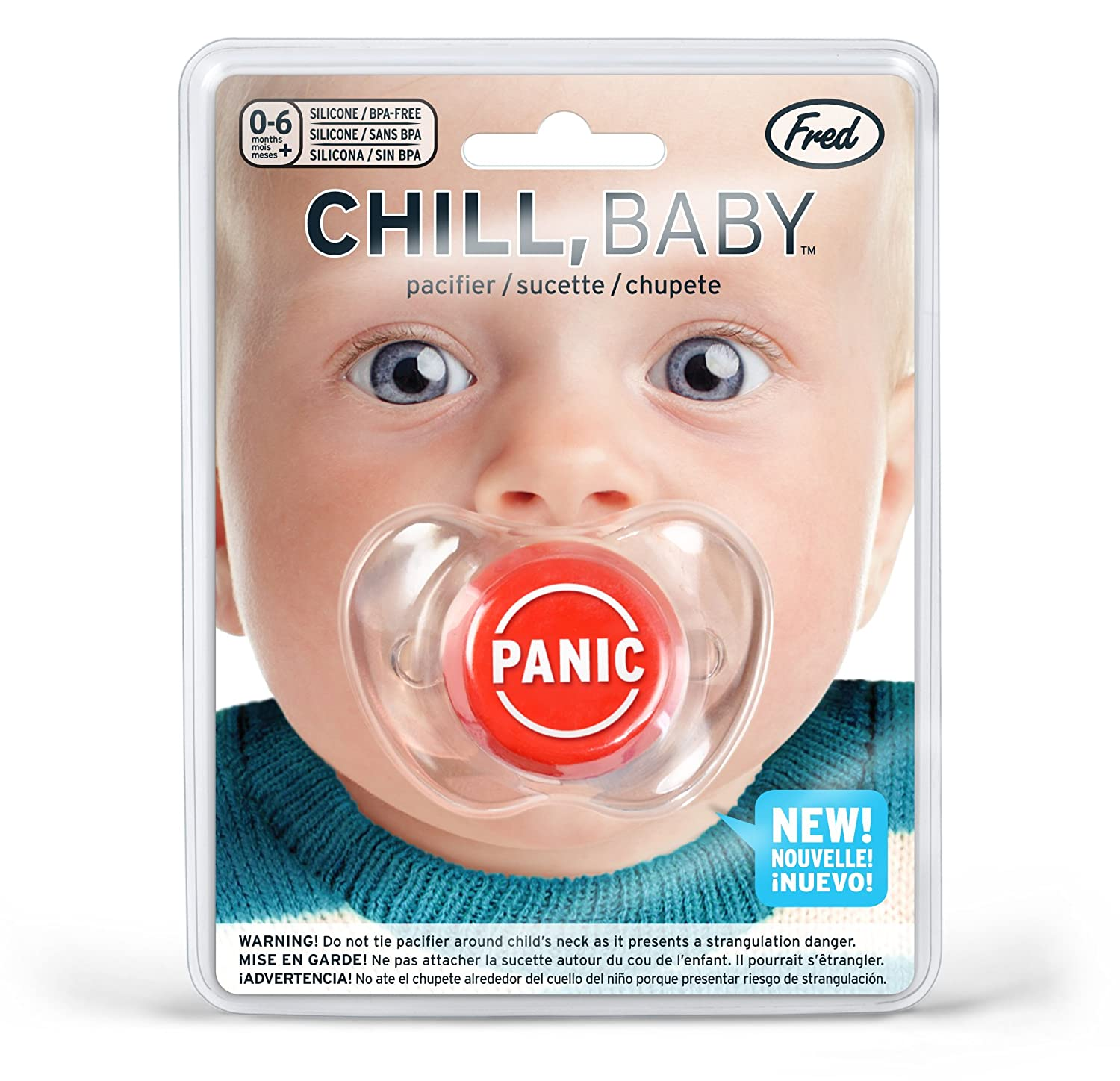 Fred CHILL, Baby Panic Button Pacifier