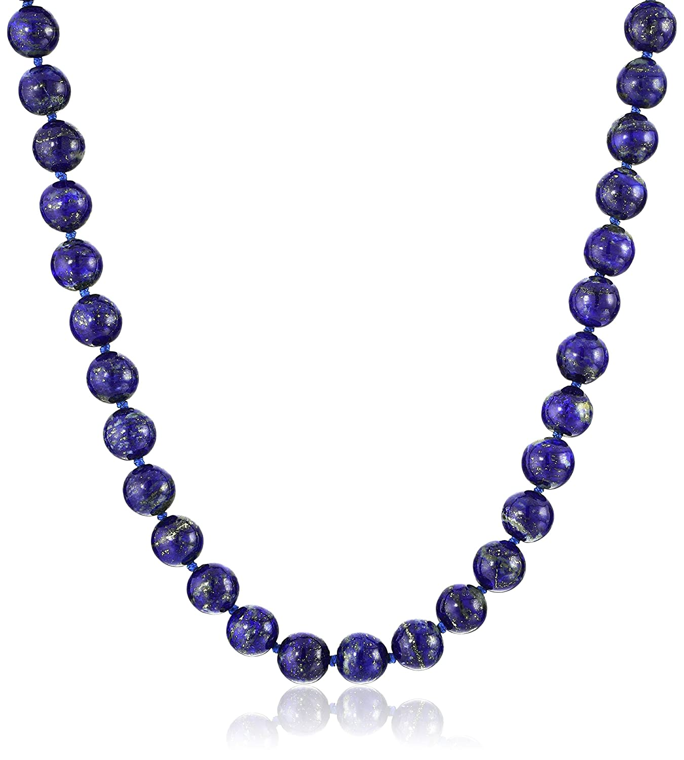 beaded product stretch homebyrachel blue bead sparkly necklace