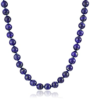 necklace jay king d sterling bead silver products lapis graduated