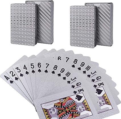 Durable Waterproof Plastic Deck Playing Cards Poker Standard Casino SiNJ