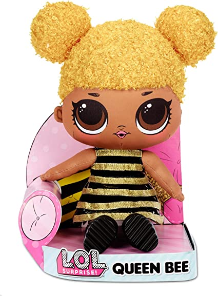 Amazon.com: L.O.L. Surprise! Queen Bee – Huggable, Soft Plush Doll: Toys & Games
