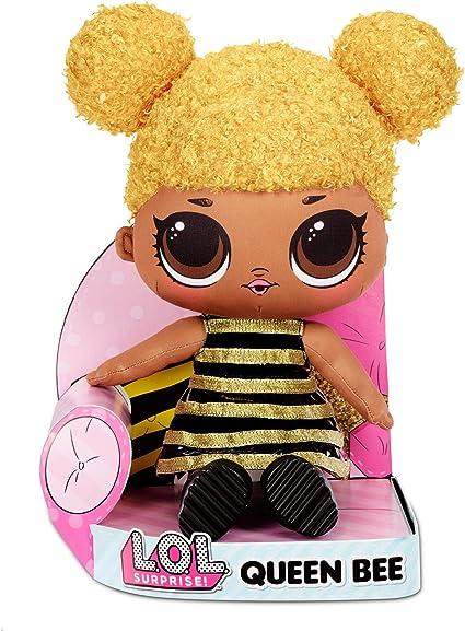 Amazon.com: L.O.L. Surprise! Queen Bee – Huggable, Soft Plush Doll: Toys & Games