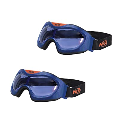 NERF Elite Goggle 2 Pack: Toys & Games