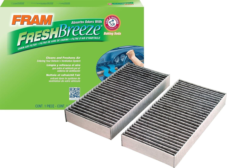 FRAM CF10135 Fresh Breeze Cabin Air Filter with Arm & Hammer