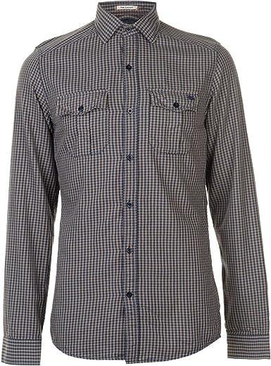 ONEILL Hombre Flannel Camisa Casual De Algodón Manga Larga Caqui M: Amazon.es: Ropa y accesorios