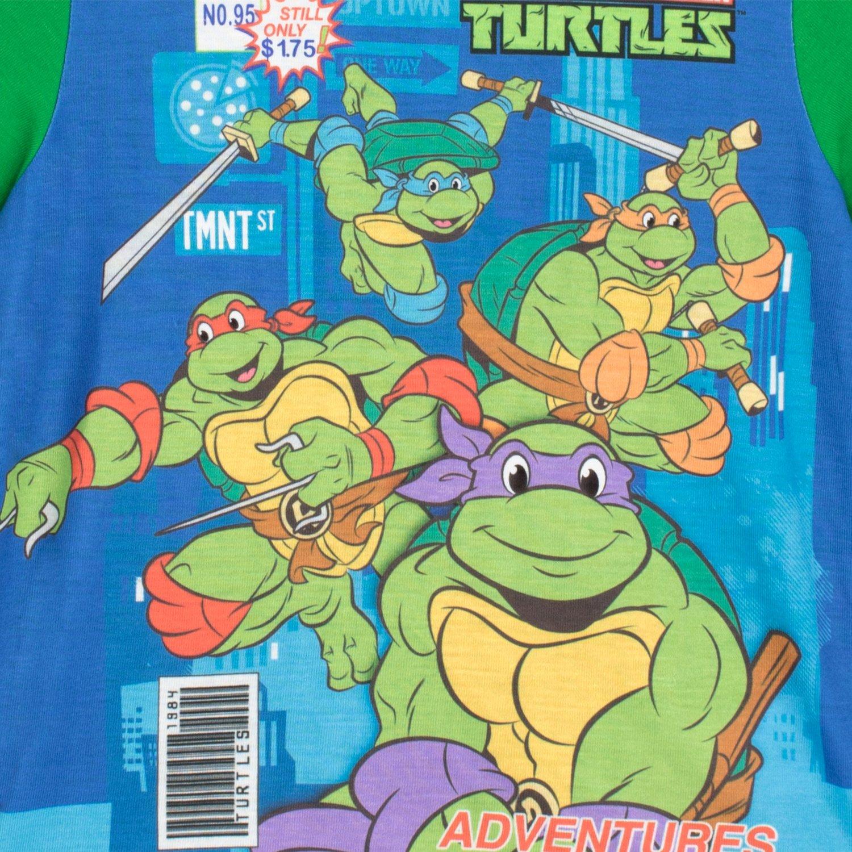 Teenage Mutant Ninja Turtles - Pijama para Niños - Las Tortugas Ninja - 3 - 4 Años