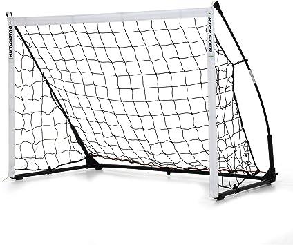 Kickster Academy 12 x 6ft Ultra Portable Football Training Goal Easy Quick Setup