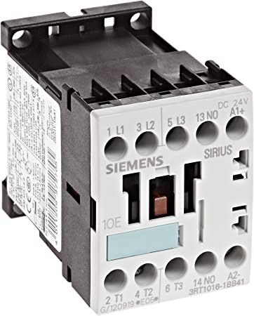 Siemens Contactor 3RT1016-1BB41 4Kw 400V 1S 1N0 AC-3 NEW