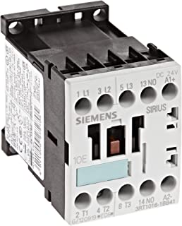 S3 Frame Size 3 Poles Siemens 3RT10 44-1AK60 Motor Contactor Screw Terminals 120V at 60Hz and 110V at 50Hz AC Coil Voltage Voltage 3RT10441AK60