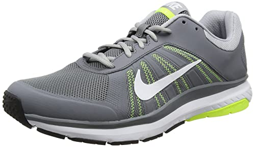 huge discount b155f 94d98 Nike Men s Dart 12 Running Shoe Cool Grey White Wolf Grey Volt 8.5 D(M) US   Buy Online at Low Prices in India - Amazon.in
