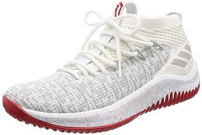 adidas dame 4 all white