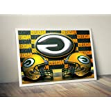 e3b8f21abc6 Green Bay Packers Limited Poster Artwork - Professional Wall Art  Merchandise (More (11x14)