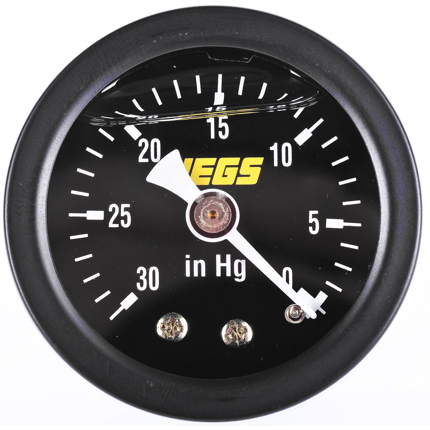 JEGS 41008 Liquid-Filled Vacuum Gauge by JEGS