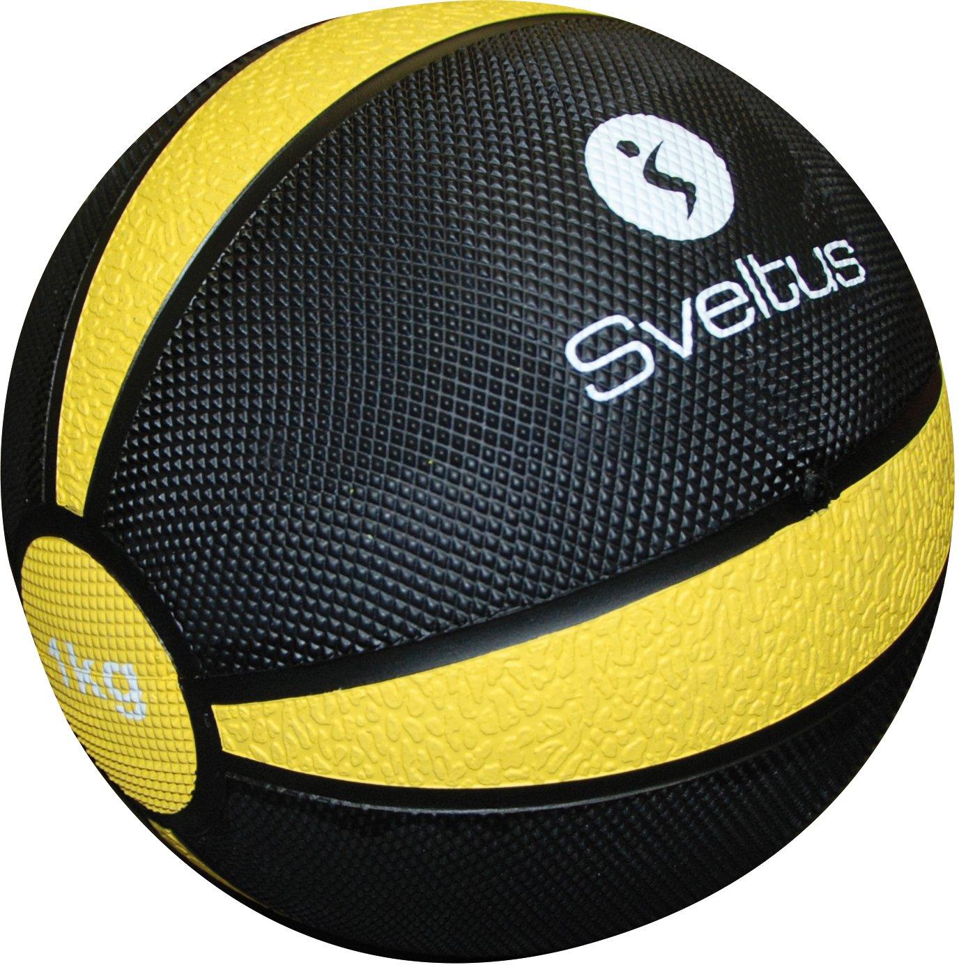 Sveltus balón Medicinal 1 kg: Amazon.es: Deportes y aire libre