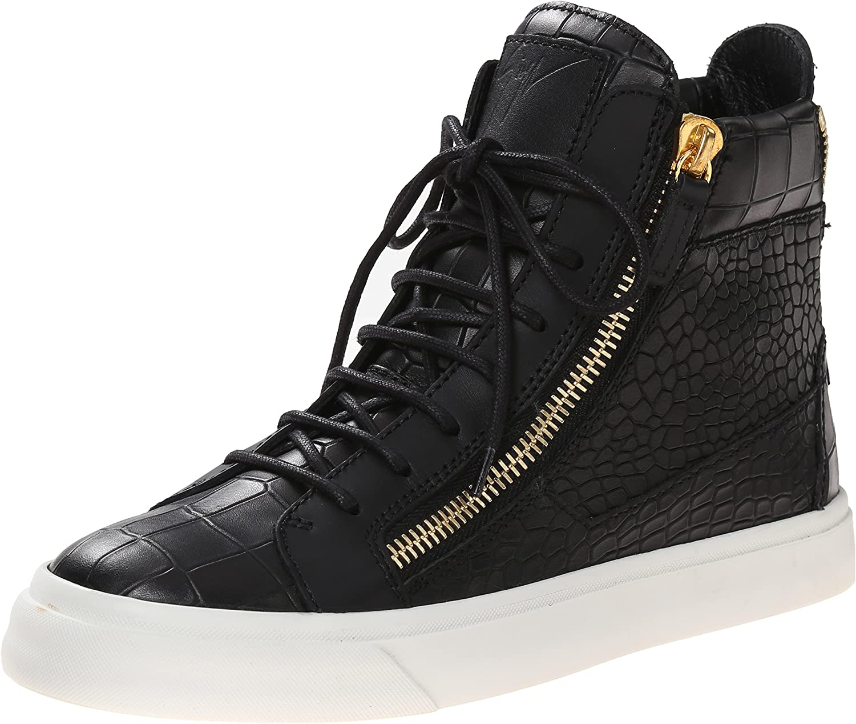 Top Gold Zip Fashion Sneaker
