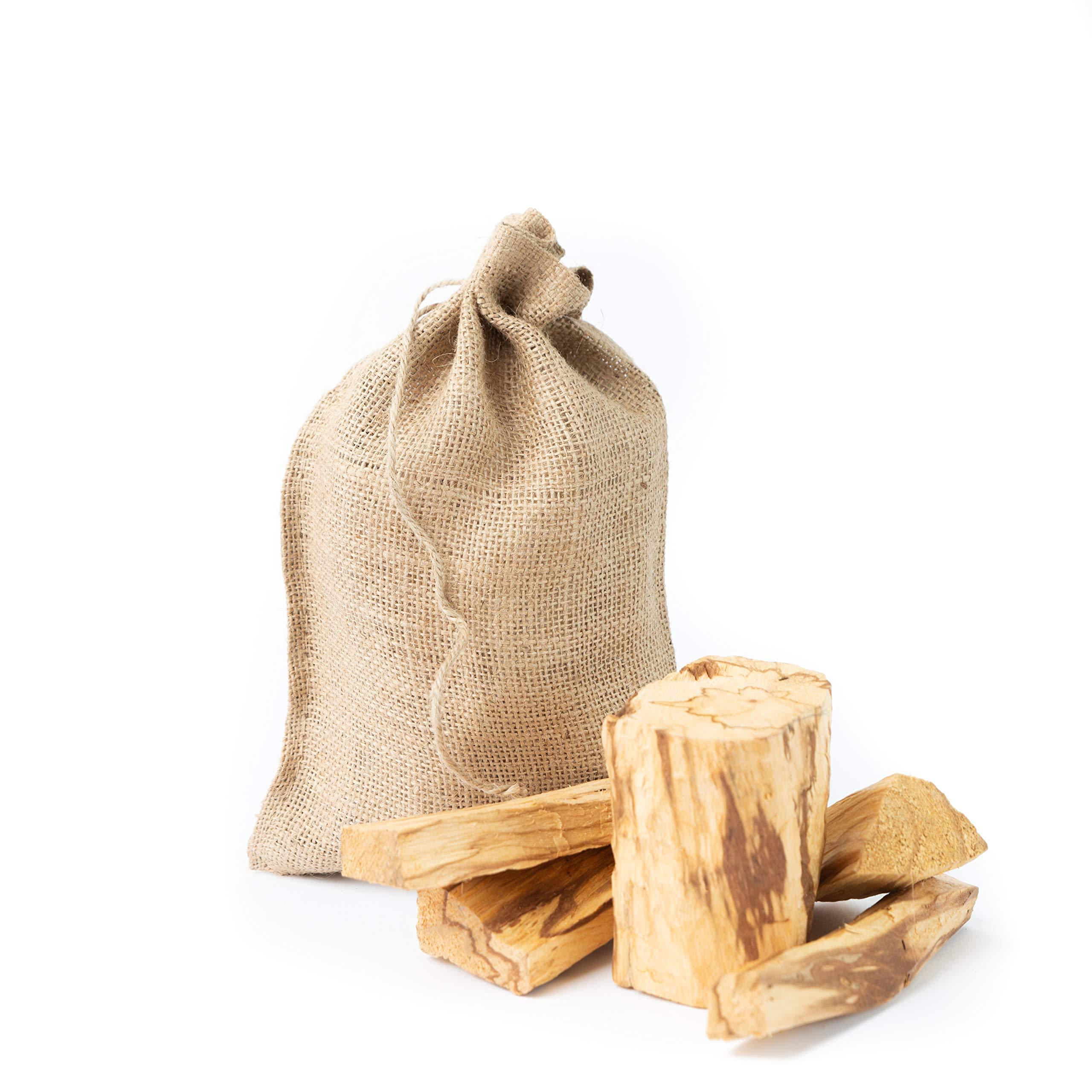 Luna Sundara Palo Santo from Perú Smudging Sticks Large Chunks, High Resin 1 Pound Bag. by Luna Sundara (Image #1)