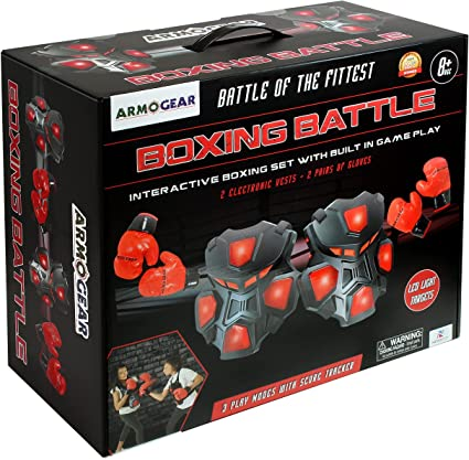 ArmoGear Electronic Boxing Game for Kids and Adults Interactive Boxing Wres...
