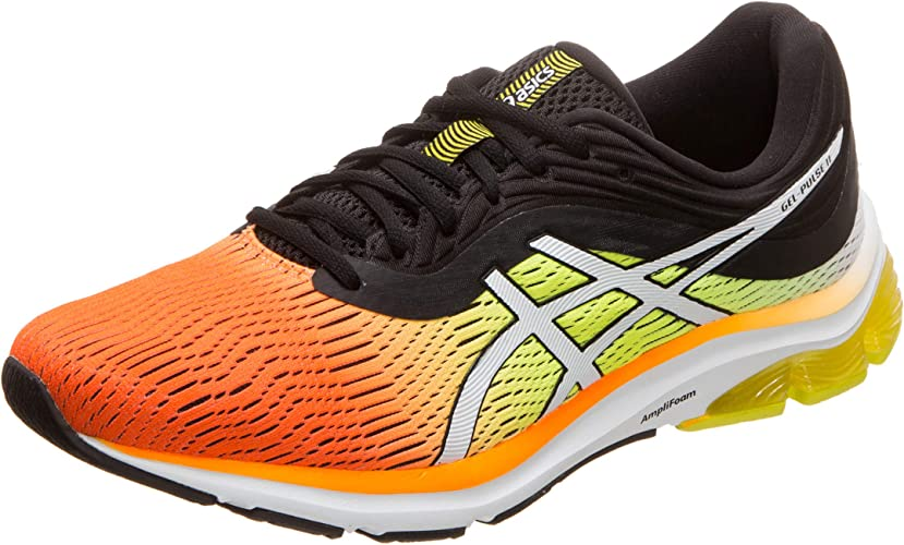 Asics Gel-Pulse 11 Zapatillas de running para hombre, color naranja (Shock  Orange/Black 800), 7.5 UK