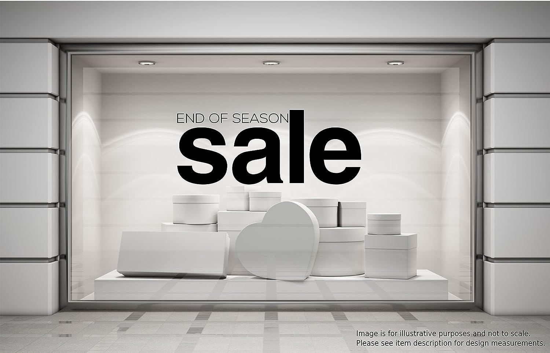 END OF SEASON SALE Shop Window Sticker Retail Display Store