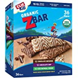 Clif Kid Z Bar Organic Energy Snacks, Variety Pack 36 Count