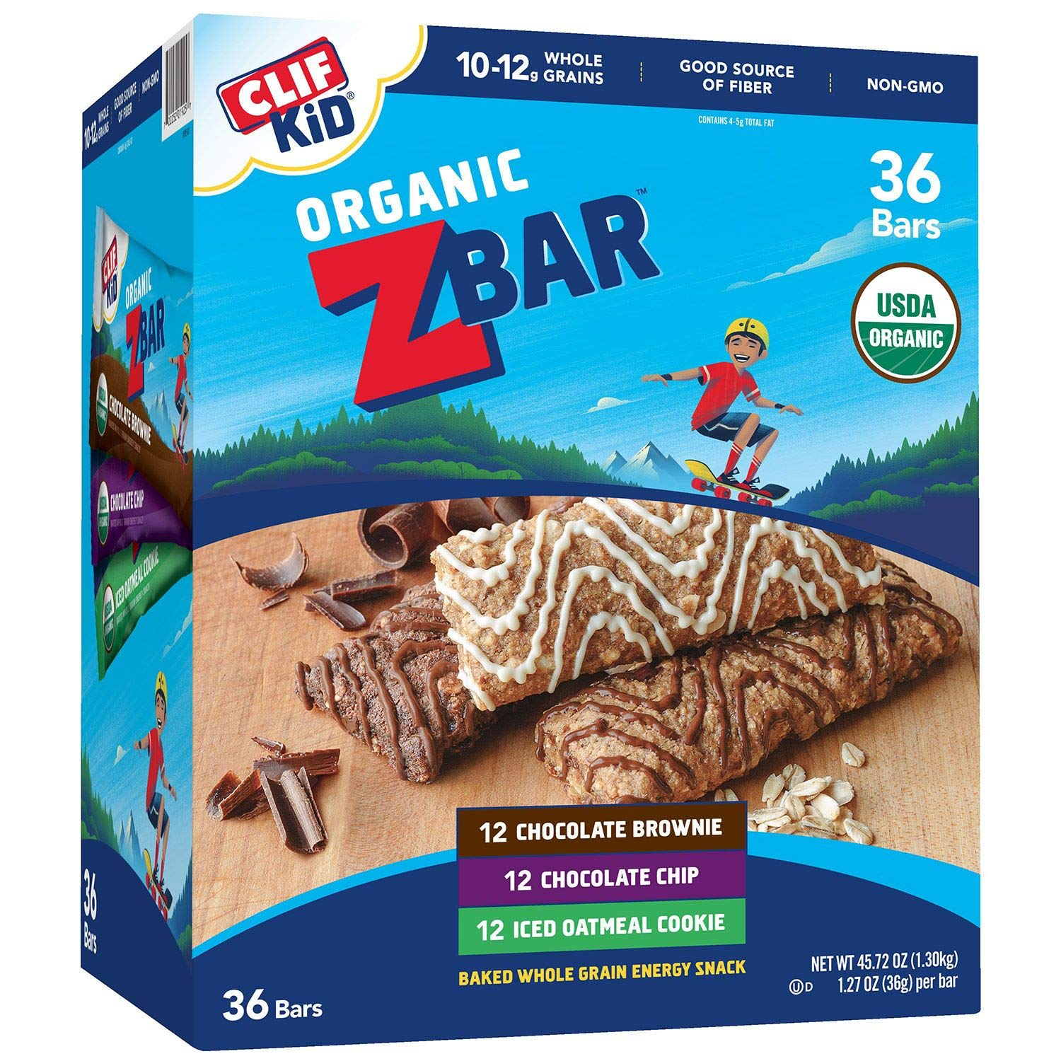 CLIF Kid ZBar 36 ct. (pack of 4) A1