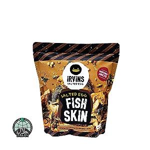 IRVINS Salted Egg Fish Skin Crisps 105g