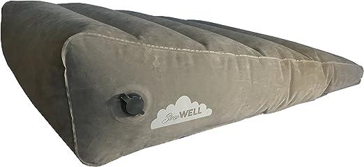 Amazon.com: Hinchable Cuña para cama portátil con rápido ...