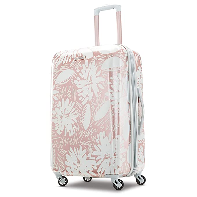 American Tourister Checked-Medium, Palm Trees best spinner luggage