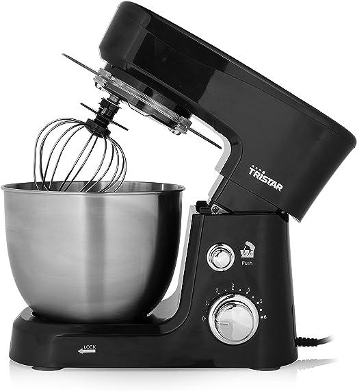 Tristar MX-4830 Robot de Cocina, 3,5 l de Capacidad, 3 Accesorios incluidos, Color negro: Amazon.es: Hogar