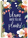 """bloom daily planners 2018 Calendar Year Daily Planner (January 2018 to December 2018) - Weekly & Monthly Agenda - Passion/Goal Organizer - 6"""" x 8.25"""" - Bloom Where You Are Planted"""
