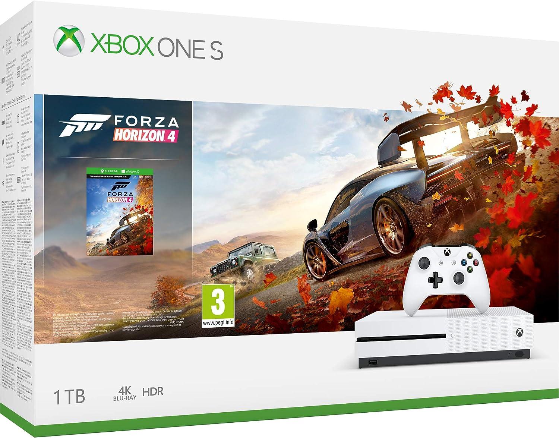 Xbox One S 1TB Forza Horizon 4 console [Importación inglesa ...