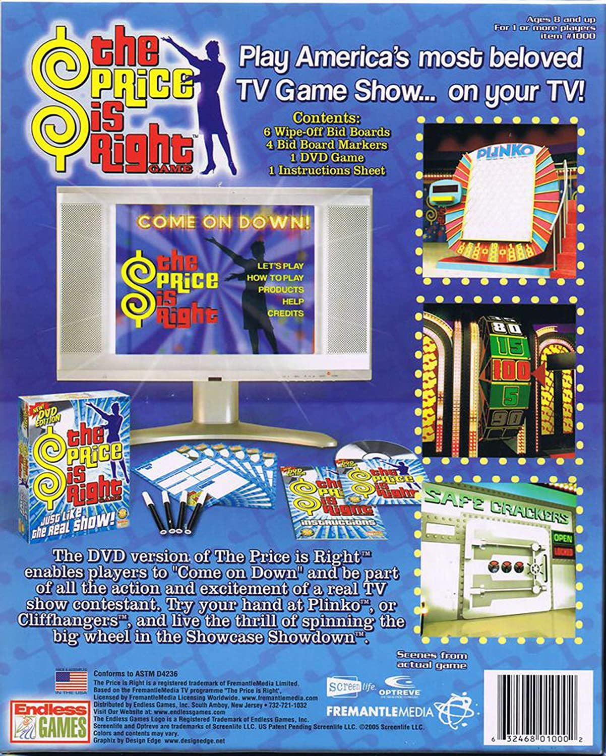 Amazon Com Endless Games The Price Is Right Game Dvd Edition Toys Games