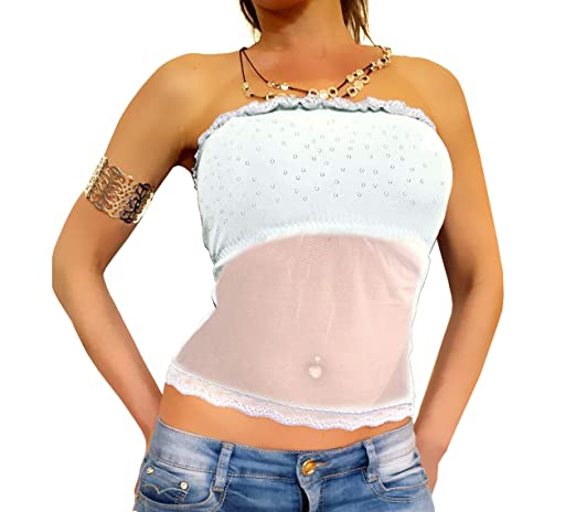 Leichte Damen Langarm Jacke Häkel Stickerei Mosaik Muster am Rücken hüftlang neu