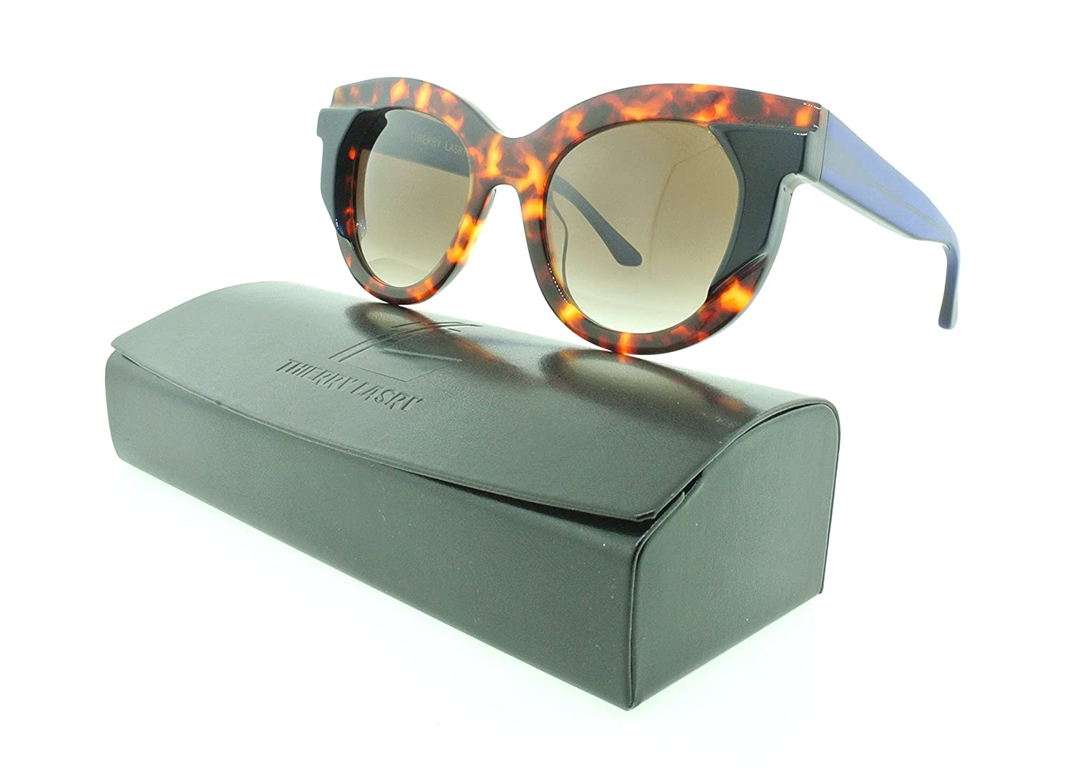Thierry Lasry レディース B0785G2YXF Clear Multicolor|グレー グラデーション Clear Multicolor