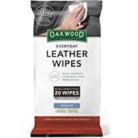 OAKWOOD OP197 Everyday Leather Wipes with UV Protect Leather Wipes
