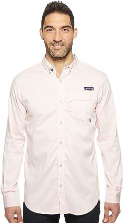 d6090977b12 Columbia Men's Super Harborside Slim Fit Woven Long Sleeve Shirt Cupid  Micro Gingham XX-Large