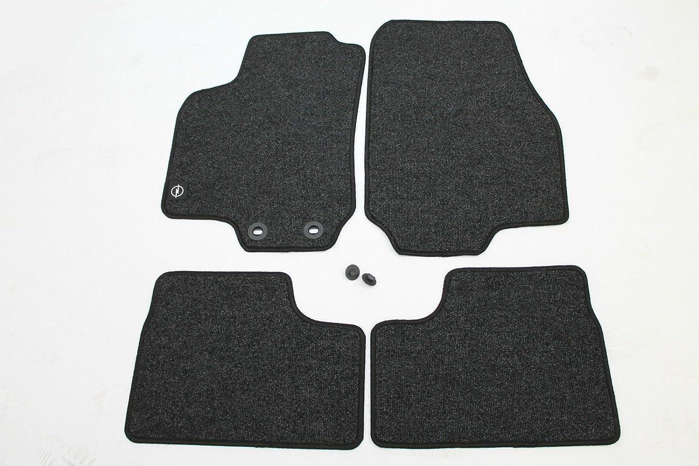 Premium Fußmatten Set für Opel Astra G CabRio 4-teilig Matten Autoteppiche